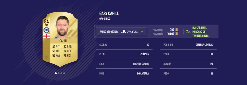 FIFA 18 - Cahill