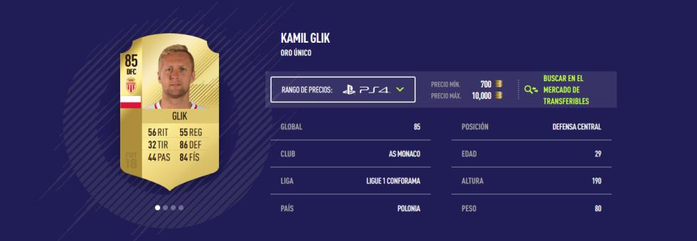 FIFA 18 - Glik