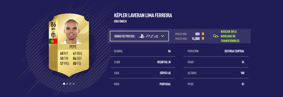 FIFA 18 - Pepe