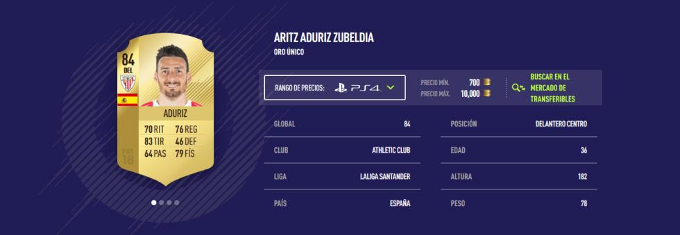 FIFA 18 - Aduriz