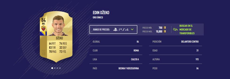 FIFA 18 - Dzeko