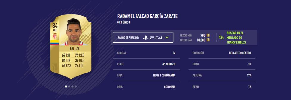 FIFA 18 - Falcao