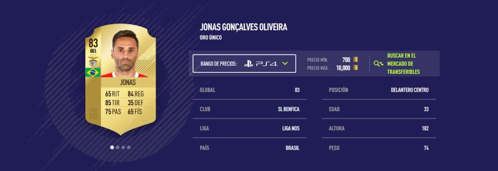 FIFA 18 - Jonas