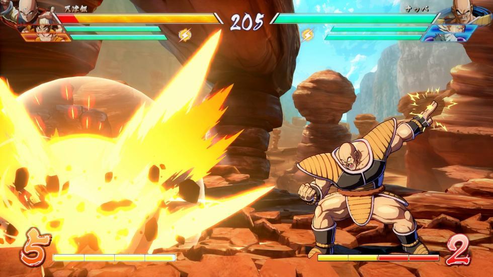 Imágenes de Ginyu y Nappa en Dragon Ball FighterZ