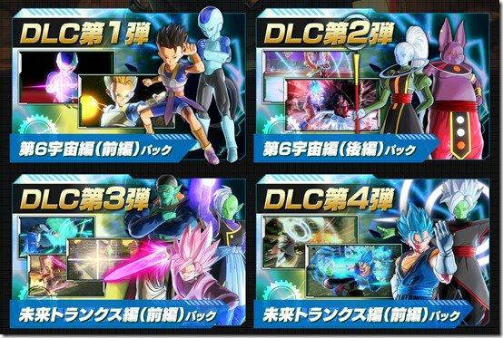 Dragon Ball Xenoverse 2 Deluxe Edition - Contenidos del pase de temporada