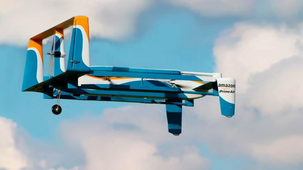 Drones de Amazon PrimeAir futuro coches eléctricos