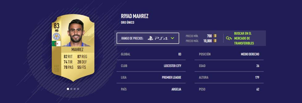 FIFA 18 - Mahrez