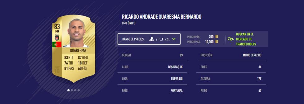 FIFA 18 - Quaresma