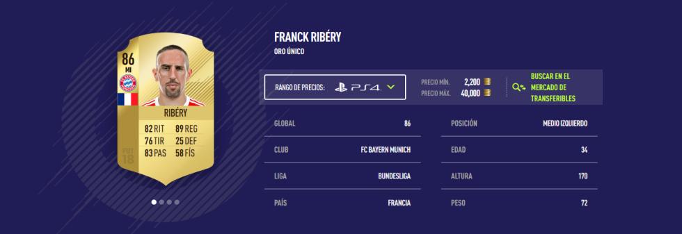 FIFA 18 - Ribéry