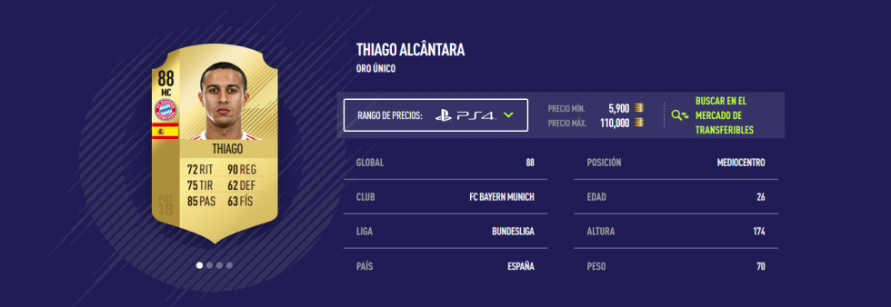 FIFA 18 - Thiago