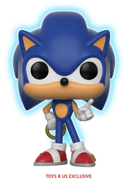 Figura Funko Pop de Sonic brillante en la oscuridad (exclusiva de Toys 'R' Us)