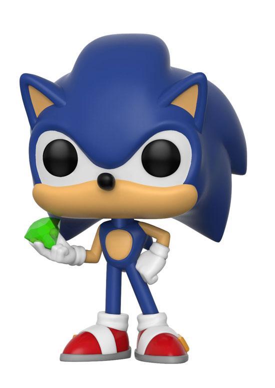 Figura Funko Pop de Sonic con diamante