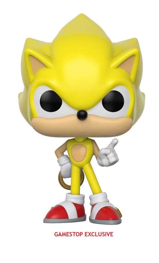 Figura Funko Pop de Super Sonic (exclusiva de GameStop)