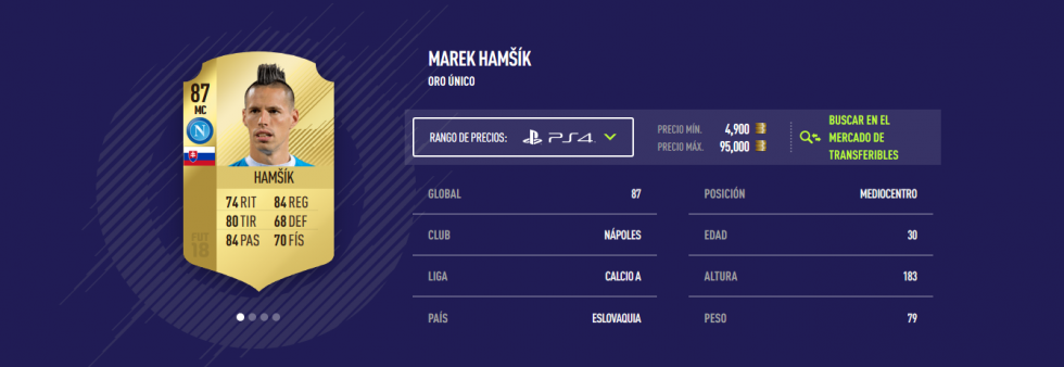 FIFA 18 - Hamsik