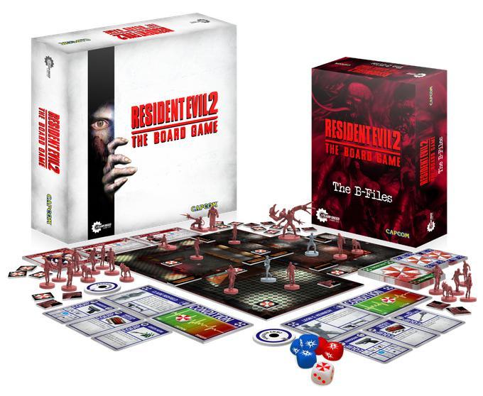 Juego de mesa Resident Evil 2