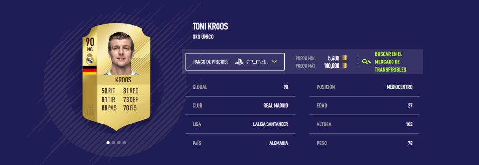 FIFA 18 - Kroos