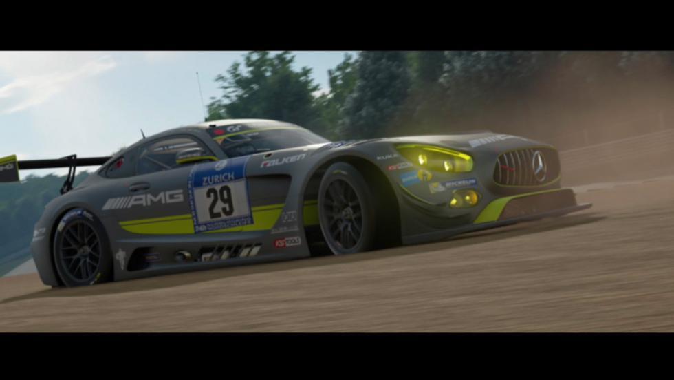 Mercedes AMG en Gran Turismo Sport (V)