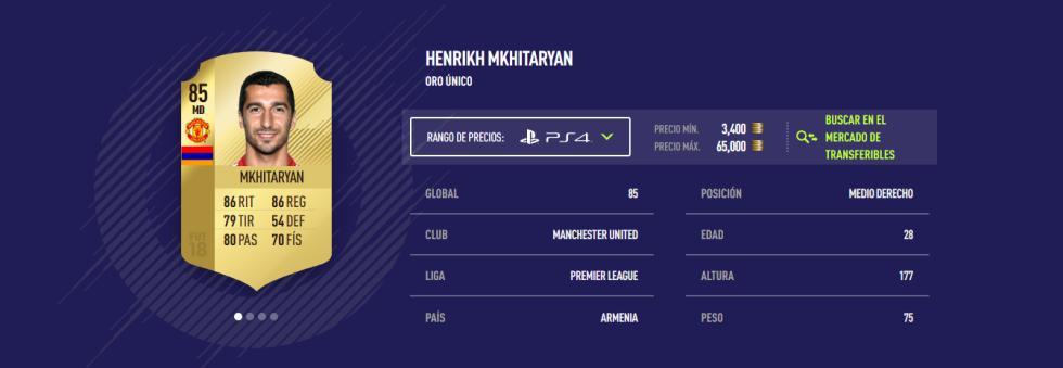 FIFA 18 - Mkhitaryan