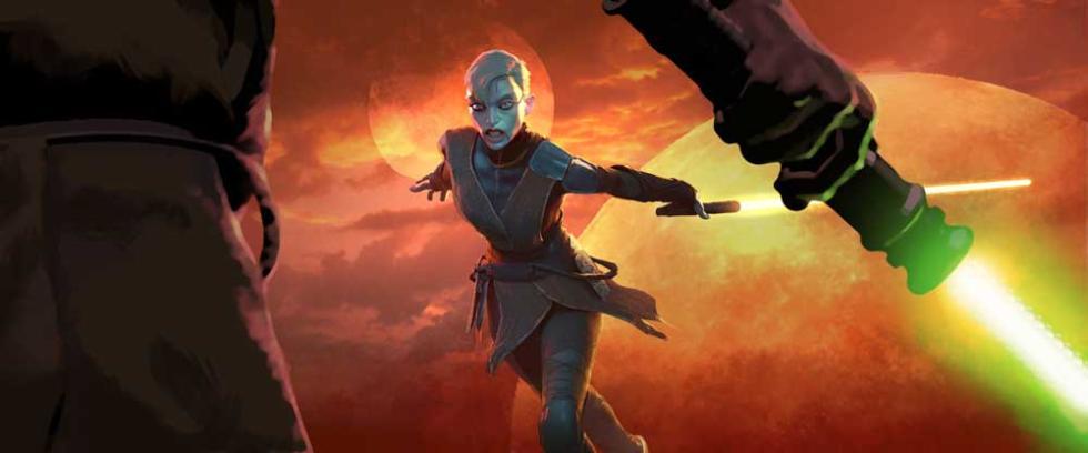 Personajes de Star Wars: Discípulo Oscuro