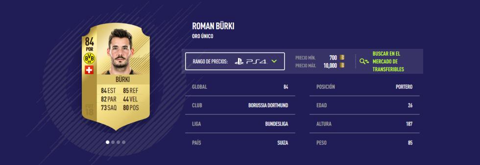 FIFA 18 - Bürki
