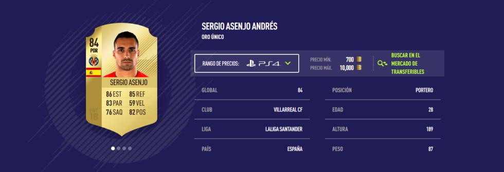 FIFA 18 - Asenjo