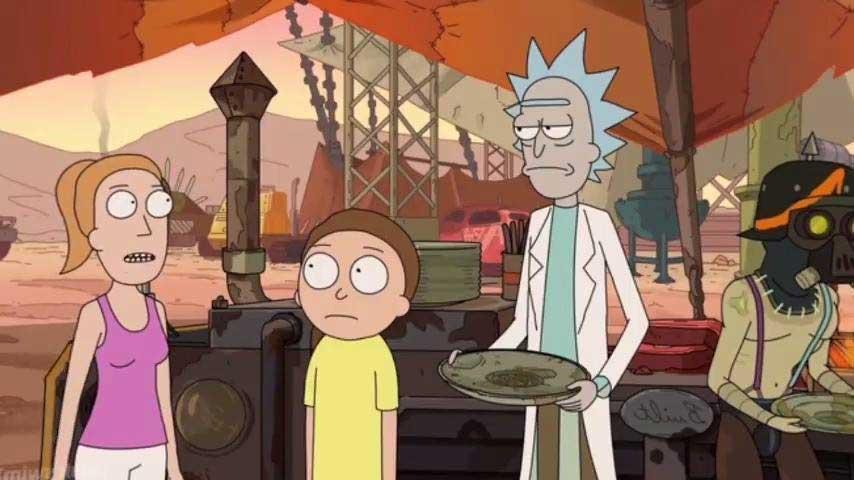 Review de Rick y Morty 3x02 - En busca del Rickazón Verde