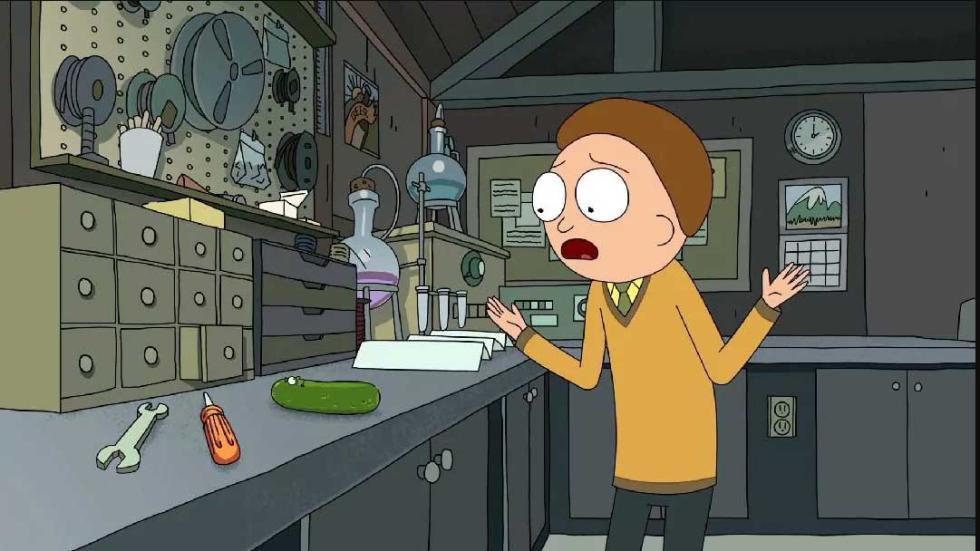Rick y Morty 3X03 - Rick Pepinillo