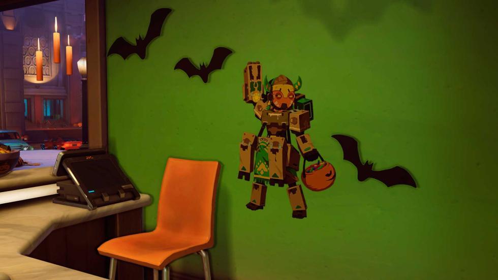 Skins de Halloween terror de Overwatch