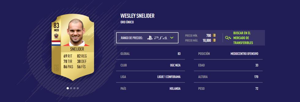 FIFA 18 - Sneijder