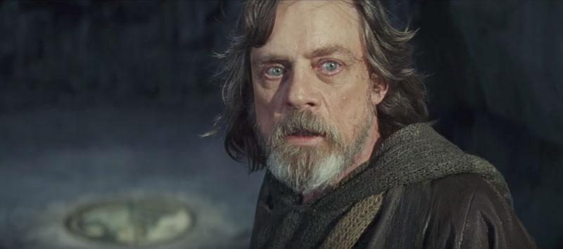 Los últimos Jedi Luke Skywalker