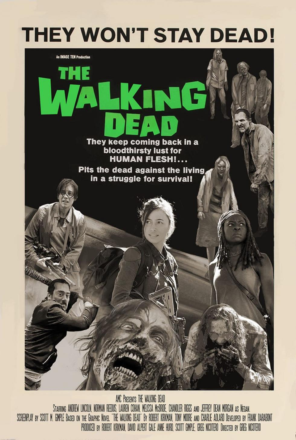 AMC, Greg Nicotero, zombis