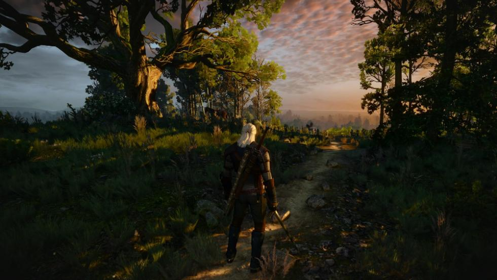 The Witcher 3 en PS4 Pro