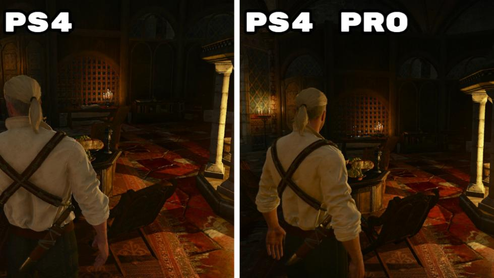 The Witcher 3 - PS4 vs PS4 Pro