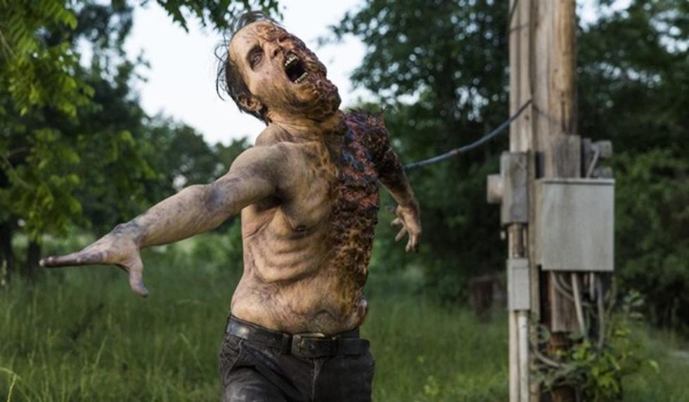 Zombies de la octava temporada de The Walking Dead