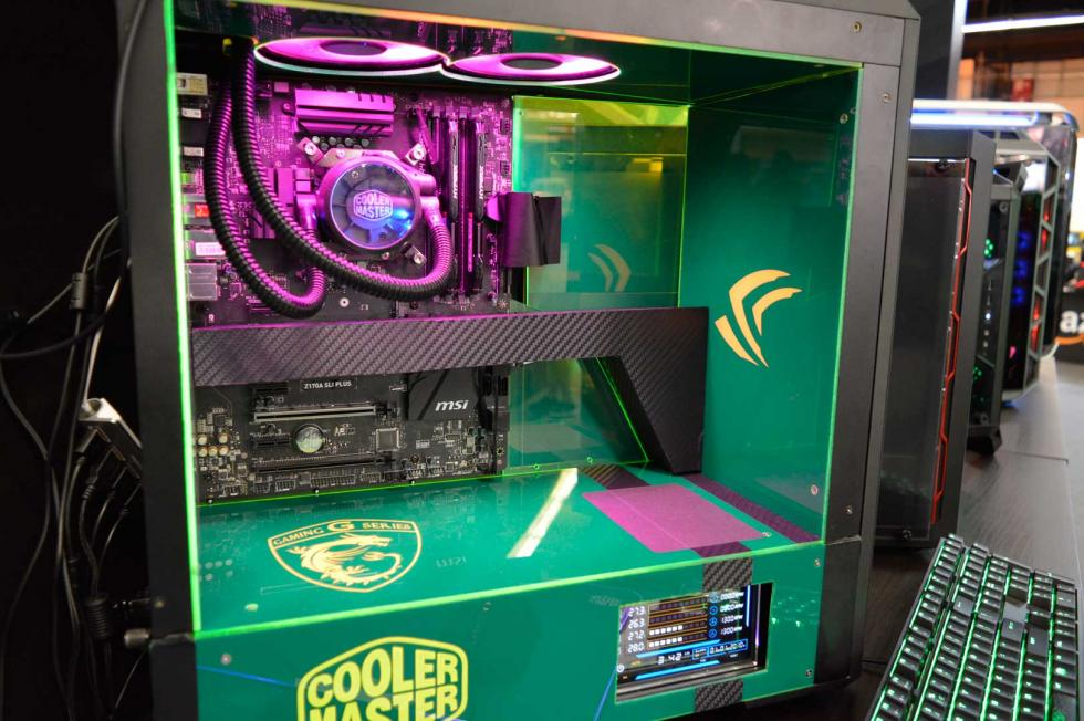 Zona PC gaming de Barcelona Games World