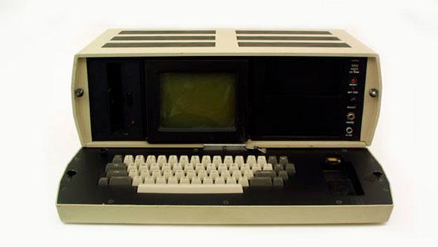 Xerox Notetaker fue el primer prototipo de un ordenador portátil.
