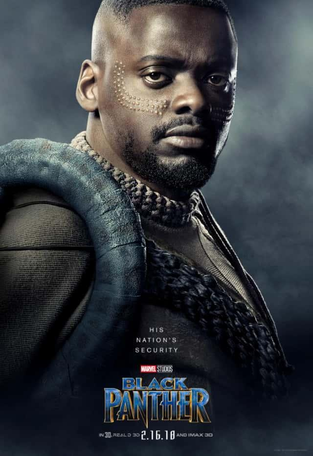 Black Panther pósters individuales