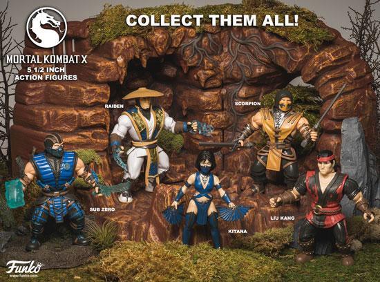 Figuras de acción Funko de Mortal Kombat