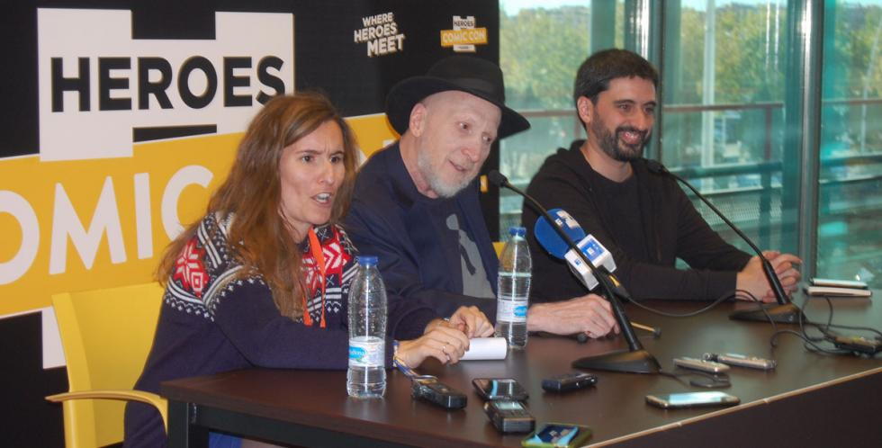 Heroes Comic Con Madrid recibe al guionista Frank Miller