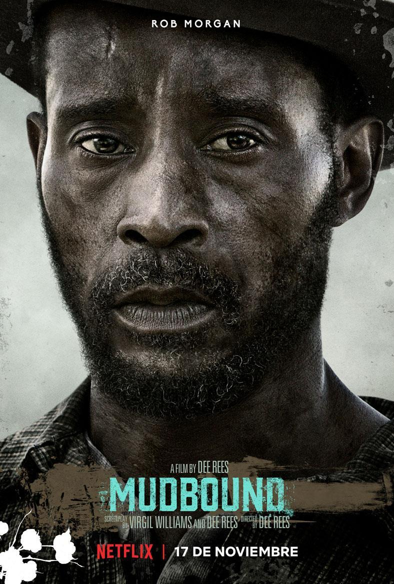 Mudbound - Pósters de los protagonistas