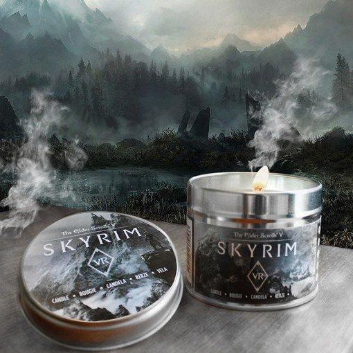 Skyrim VR y Fallout 4 VR velas aromáticas