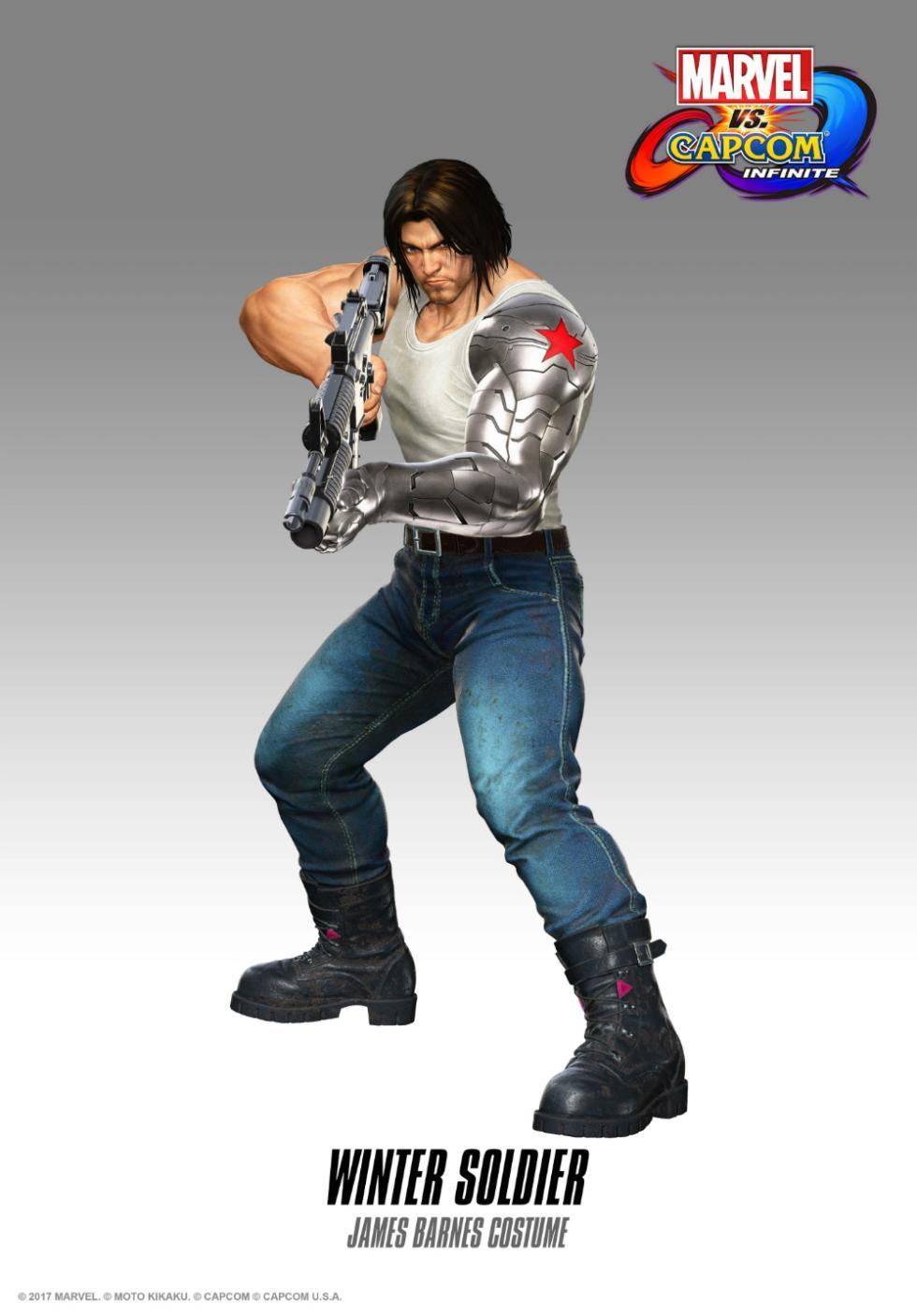 Soldado de Invierno en Marvel vs. Capcom Infinite