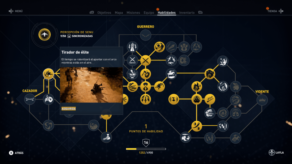 Tirador de élite (Cazador) Assassin's Creed Origins
