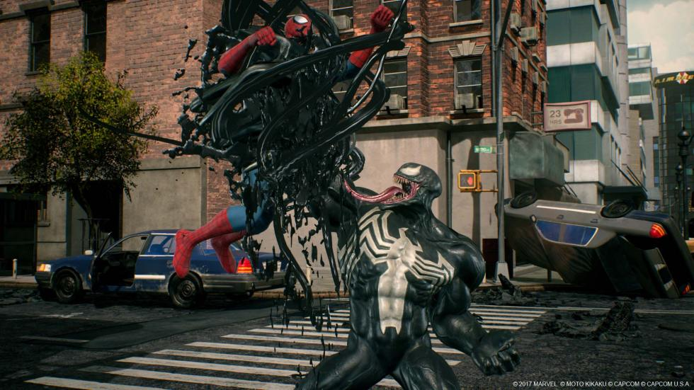 Venom en Marvel vs. Capcom Infinite