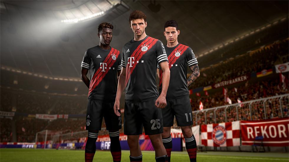 4 equipacion Bayern