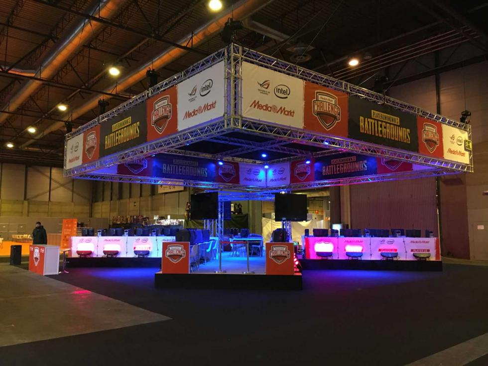 Arenas de Gamergy 8 - eSports