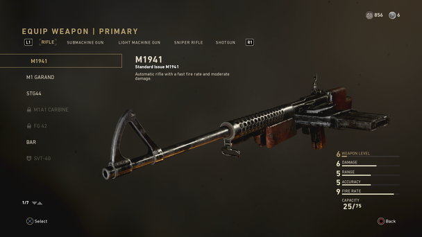 Call of Duty WWII - M1941