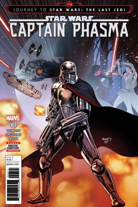 Captain Phasma Comic Portada