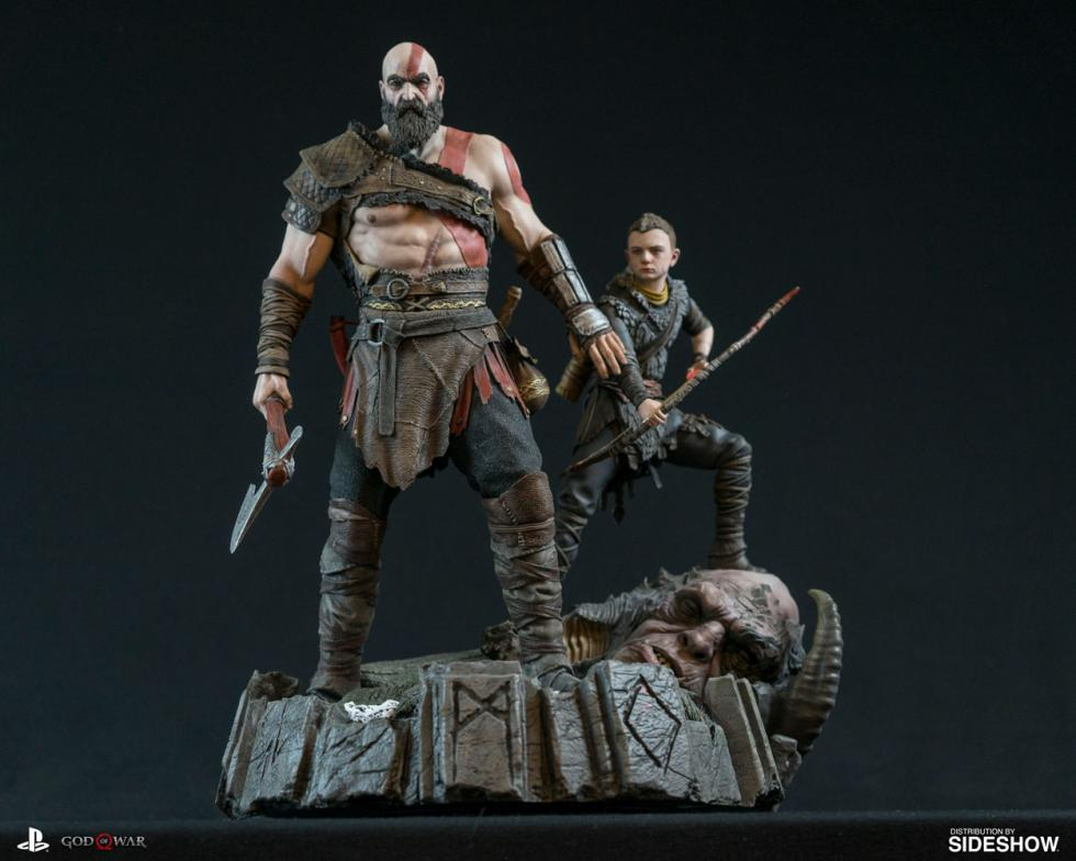 God of War PS4 figura