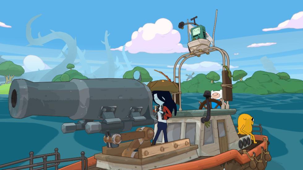 Hora de Aventuras Piratas de Enchiridión
